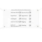 Vet School Checklist Banner