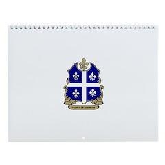 Proud Quebecois Wall Calendar