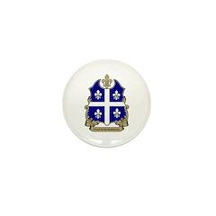 Proud Quebecois Mini Button (100 pack)