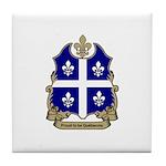 Proud Quebecois Tile Coaster