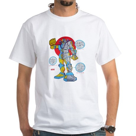 $19.99 Giant Robots for Japan! White T-Shirt