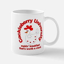 Cackleberry University Eggs Mug