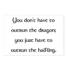Outrun The Dragon Postcards (Package of 8)