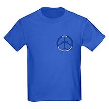 B-47 Peace Sign Kid's T-Shirt (Dark)