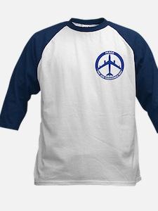 B-47 Peace Sign Kid's Baseball Jersey