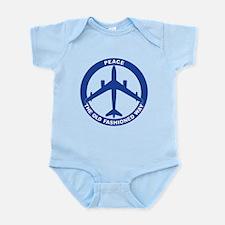 B-47 Peace Sign Infant Bodysuit
