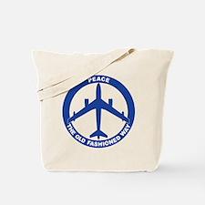 B-47 Peace Sign Tote Bag