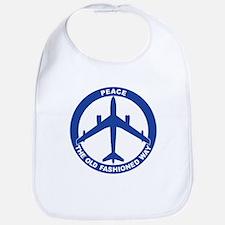 B-47 Peace Sign Bib