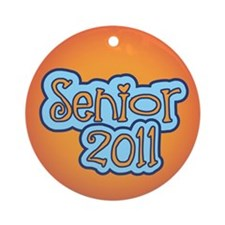 Senior 2011 Ornament (Round)