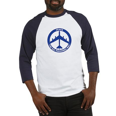 B-52G Peace Sign Baseball Jersey
