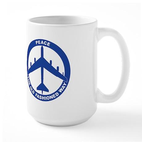 B-52G Peace Sign Large Mug