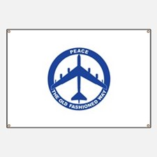 B-52G Peace Sign Banner