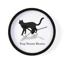 Trap Neuter Return Wall Clock