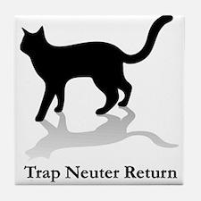 Trap Neuter Return Tile Coaster
