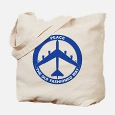 B-52H Peace Sign Tote Bag