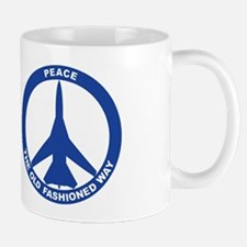 FB-111A Peace Sign Mug