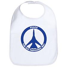 FB-111A Peace Sign Bib