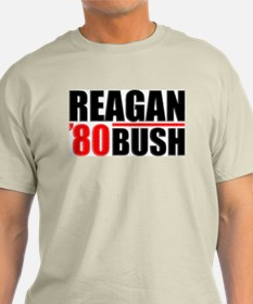Reagan/Bush '80 Color T-Shirt