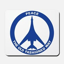 B-1B Peace Sign Mousepad