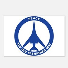 B-1B Peace Sign Postcards (Package of 8)