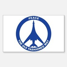 B-1B Peace Sign Decal