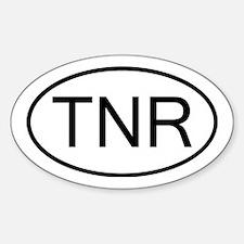 Unique Return jedi Sticker (Oval)