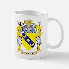 Scott Family Crest - Coat of Arms Mugs