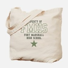 FMHS Fort Marshall High Schoo Tote Bag