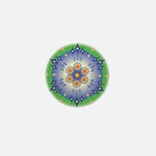 Healing Mandala Mini Button