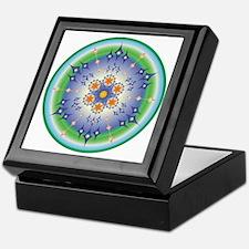 Healing Mandala Keepsake Box
