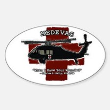 medevac-t-cafe-press Decal
