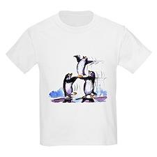 PlAyFuL pEnGuInS Kids T-Shirt