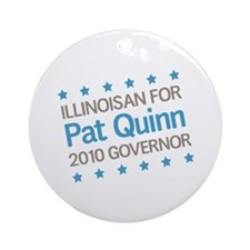 Illinoisan for Quinn Ornament (Round)