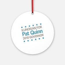 Illinoisan for Quinn Ornament (Round)