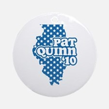 Pat Quinn 2010 Ornament (Round)