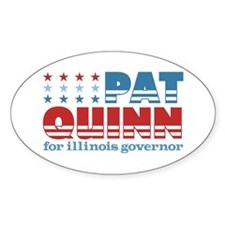 Quinn for Governor Decal