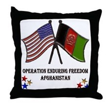 OEF Throw Pillow