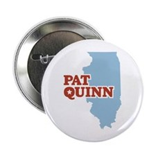 "Pat Quinn Illinois 2.25"" Button"