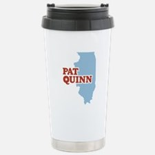 Pat Quinn Illinois Travel Mug