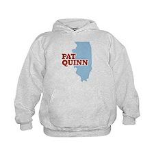 Pat Quinn Illinois Hoodie