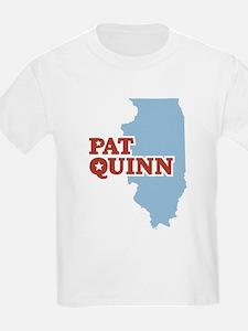 Pat Quinn Illinois T-Shirt
