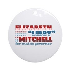 Mitchell for Governor Ornament (Round)