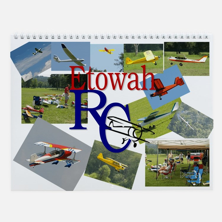 Cute Rc planes Wall Calendar