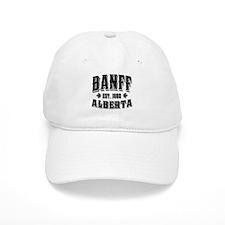 Banff Old Style Black Baseball Cap