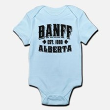 Banff Old Style Black Infant Bodysuit