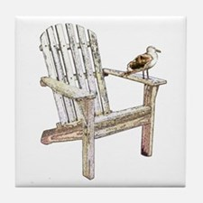 Adirondack Chair Art Tile