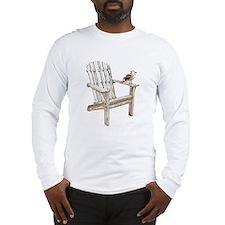 Adirondack Chair Long Sleeve T-Shirt