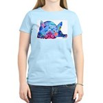 French Bulldog Frenchies Women's Light T-Shirt