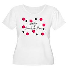 Lucky Cornhole Shirt T-Shirt