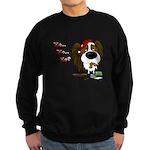 Papillon Santa's Cookies Sweatshirt (dark)